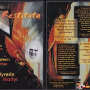 DVD Cover mit lachender Schwester Restituta