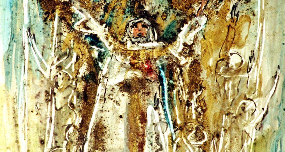modernes Gemälde: Restituta