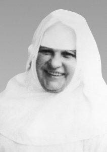 Portrait der lachenden Schwester Restituta