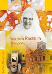 Cover von dem Buch Beata Maria Restituta mit Abbildung der lachenden Schwester Restituta