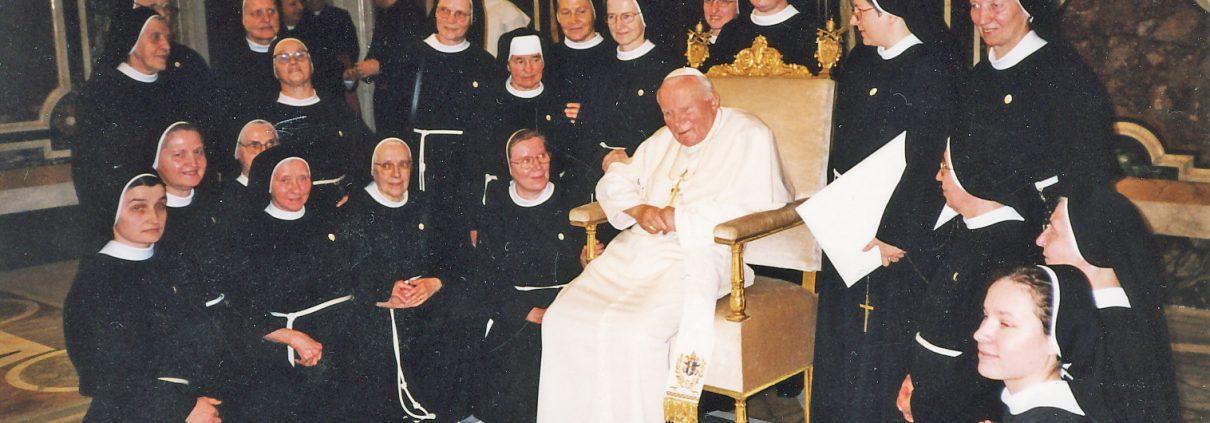 Papstaudienz Rom 1999
