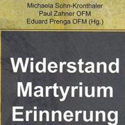 Auschnitt vom Plakat zur Ausstellung Wiederstand, Martyrium, Erinnerung