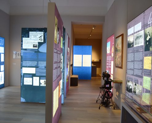 """Foto der Dauerausstellung """"Restituta - Glaube gegen NS-Gewalt"""" in Wien"""