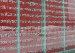 Mährisches Landesarchiv Brünn Fassade